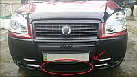 "Зимова накладка Fiat Doblo 2006-2011 Низ глянцева ""FLY"""