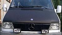 "Зимова накладка Mercedes Sprinter TDI 1995-2000 на решітку радіатора глянцева ""FLY"""