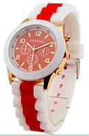 Женские наручные часы GENEVA sport красные