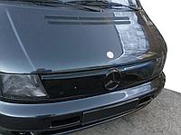 "Зимова накладка Mercedes Vito W638 1996-2003 на решітку радіатора глянцева ""FLY"""
