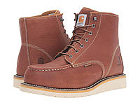 "Ботинки/Сапоги (Оригинал) Carhartt 6"" Steel Toe Waterproof Wedge Boot Tan Oil Tanned Leather, фото 1"