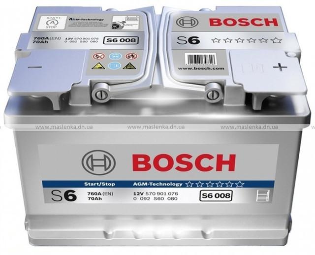 BOSCH S6 AGM