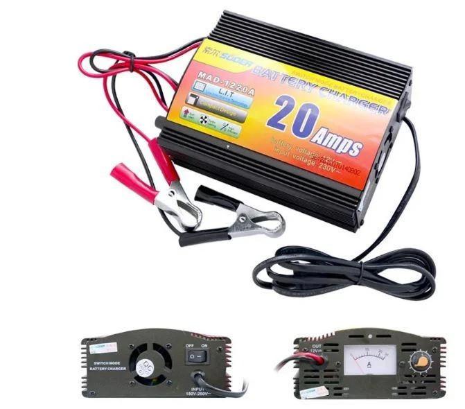 Зарядний пристрій для автомобільних акумуляторів UKC Battery Charger 12V-20A MA-1220A