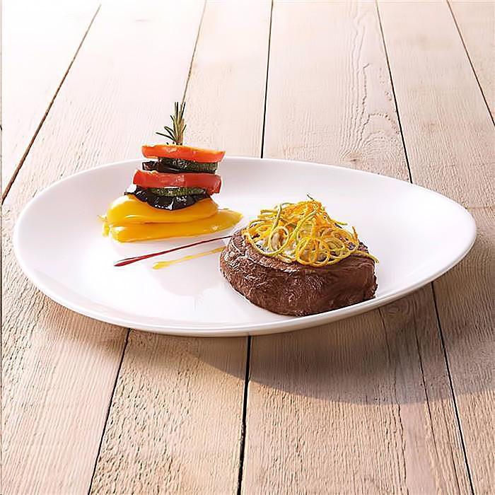 """Блюдо для стейка біле Arcoroc """"Peps Evolution"""" 300 мм (L2811)"""