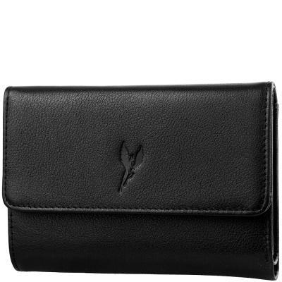 Кошелек женский кожаный VITO TORELLI VT-40172-black