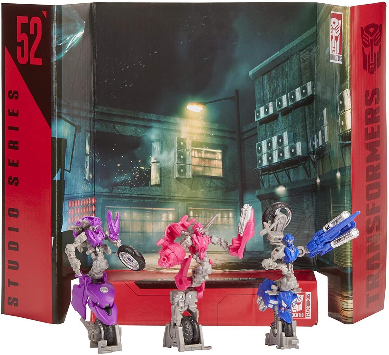 Трансформер Три Мотоцикла Арси Хромия Элита-1 Transformers Studio Series 52  Arcee Chromia Elita-1