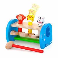 Стучалка Viga Toys Зверята (50683), фото 1