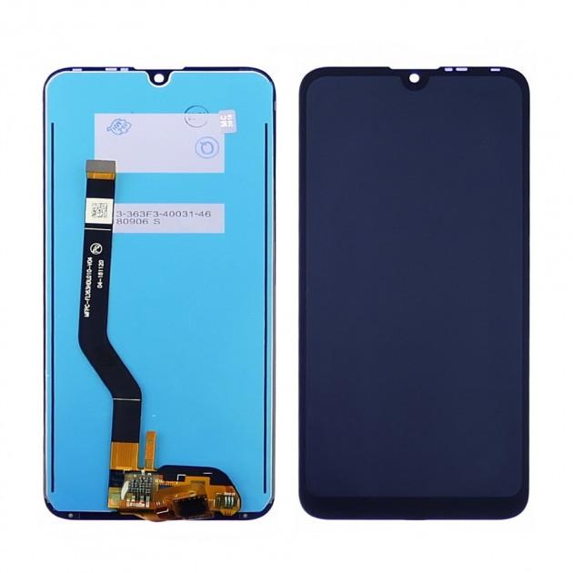 Дисплейный модуль Huawei Y7 2019 Blue сервисный оригинал