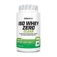 Протеин BioTech Iso Whey Zero Clear, 1.3 кг Лайм