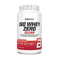 Протеин BioTech Iso Whey Zero Clear, 1.3 кг Тропические фрукты