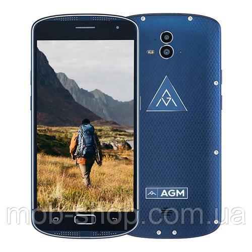 Защищенный смартфон AGM X1 blue (white box)