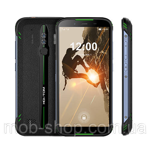 Смартфон Homtom HT80 green 2/16 Гб аккумулятор 4300 mAh
