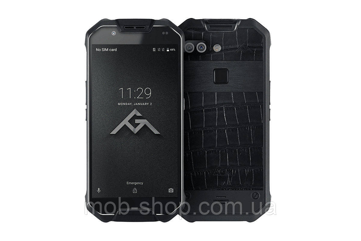 Смартфон AGM X2 6/64Gb black leather