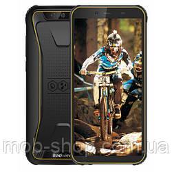 Захищений смартфон Blackview BV5500 yellow + стартовий пакет Sweet TV у подарунок