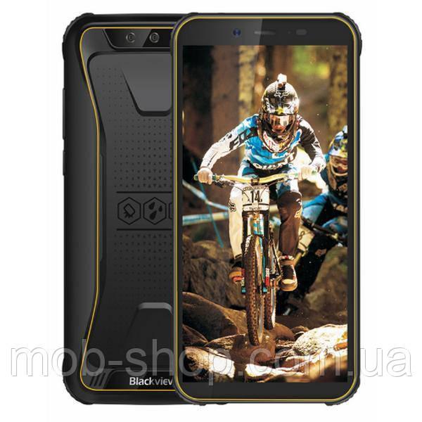 Защищенный смартфон Blackview BV5500 yellow + стартовый пакет Sweet TV в подарок