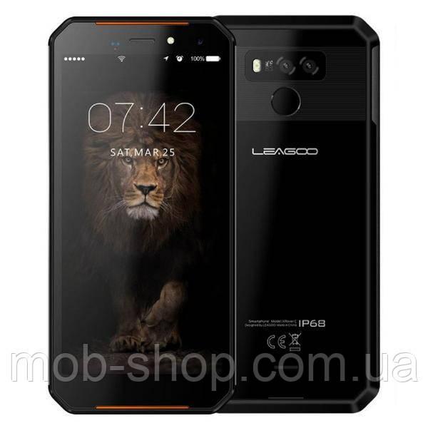 Смартфон Leagoo xRover C black степень защиты IP68