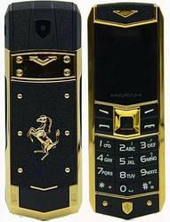 Мобильный телефон H-Mobile A8 (Mafam A8) black. Vertu design