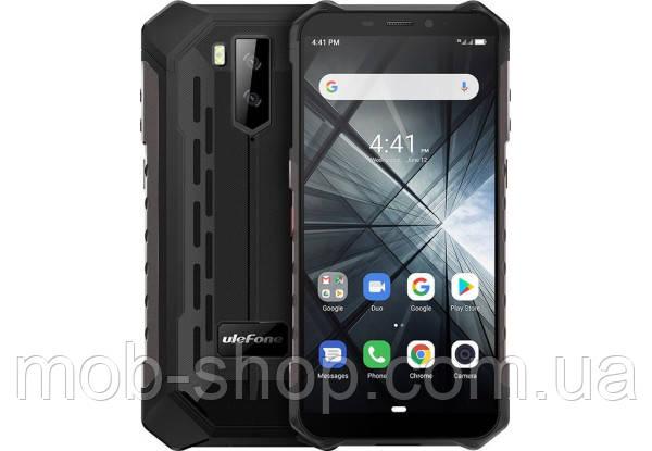 Смартфон UleFone Armor X3 black IP69K батарея 5000 mAh