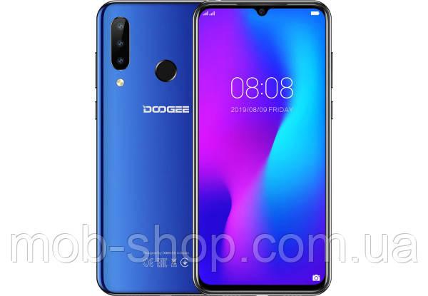 "Смартфон Doogee N20 blue большой экран 6,3"" 4/64 Гб"