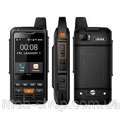 Защищенный смартфон Uniwa ALPS F50 black + стартовый пакет Sweet TV в подарок