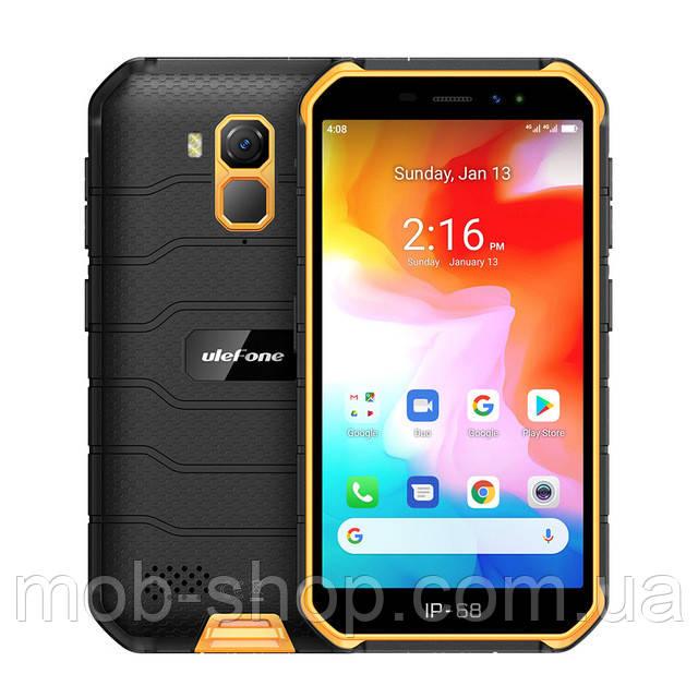 Захищений смартфон UleFone Armor X7 orange