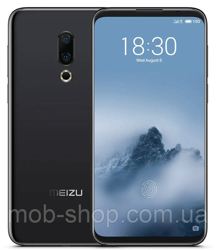 Смартфон Meizu 16th M882H 6/64Gb black Global Version