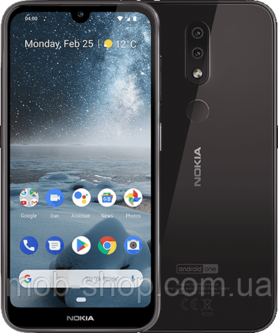 Смартфон Nokia 4.2 TA-1157 3/32Gb black