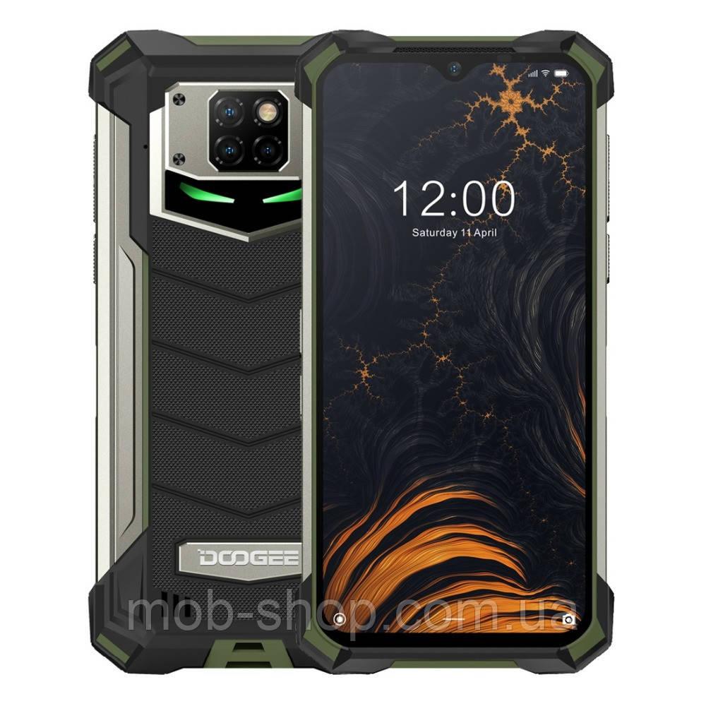 """Смартфон Doogee S88 Pro green огромный экран 6,3"""" защита IP69K память 6/128 Гб батарея 10000 mAh"""