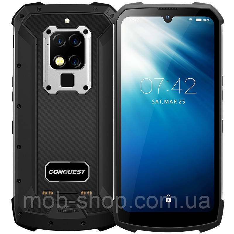 Смартфон Conquest S16 8/128Gb silver