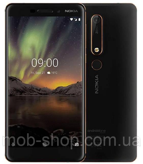 Смартфон Nokia 6.1 TA-1054 4/64Gb black + стартовый пакет Sweet TV в подарок