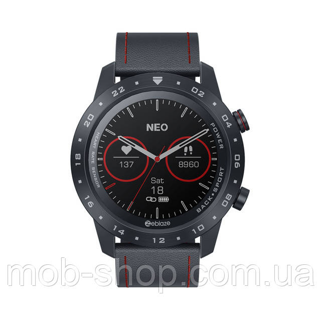 Смарт часы Smart Watch Zeblaze NEO 2 black