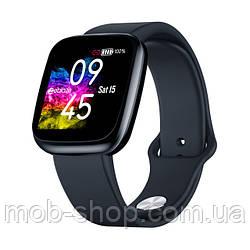 Смарт часы Smart Watch Zeblaze Crystal 3 black умные часы для смартфона Android IOS Bluetooth