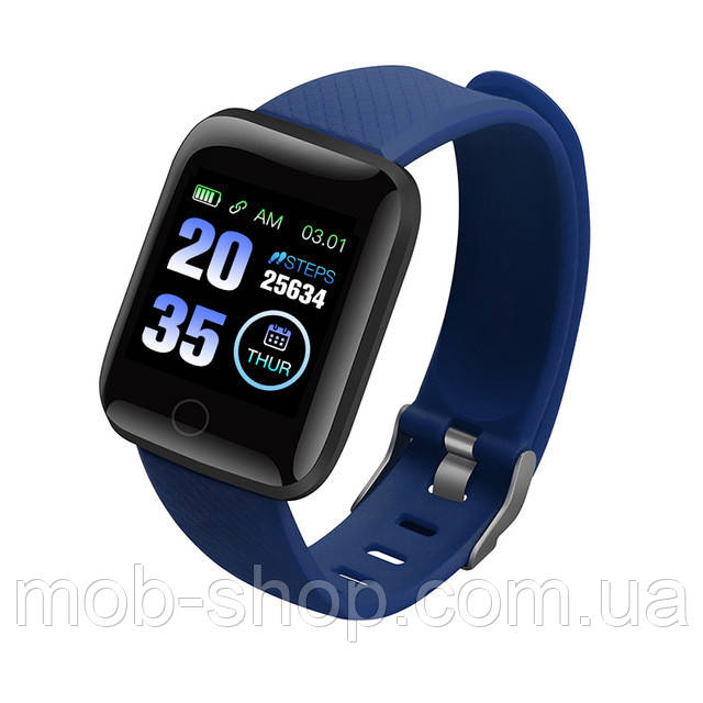 Смарт часы Smart Watch D13 (116 Plus) blue