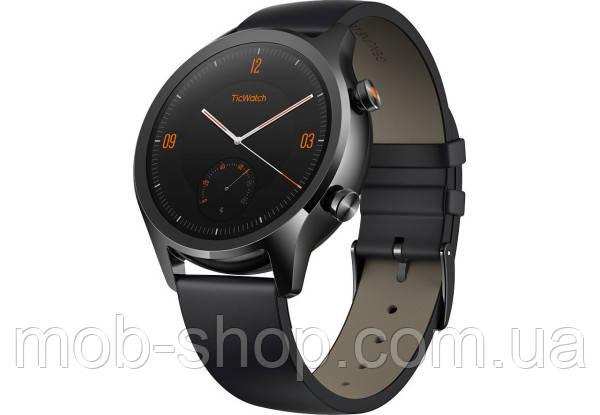 Смарт часы Smart Watch Mobvoi TicWatch C2 AMOLED black умные часы для смартфона Android IOS Bluetooth