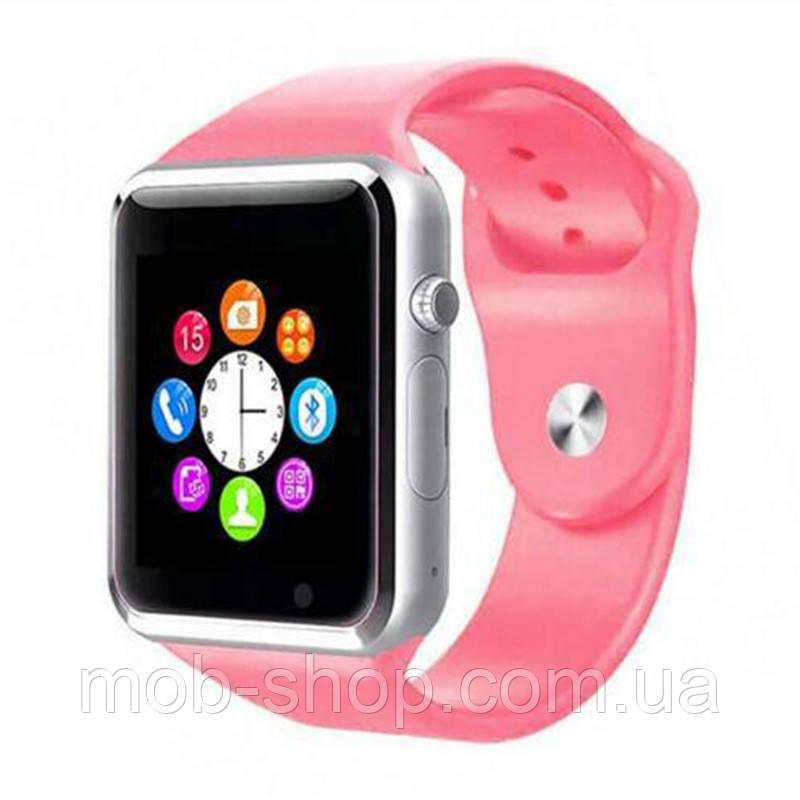 Смарт часы Smart Watch NO-BORDERS A1 pink