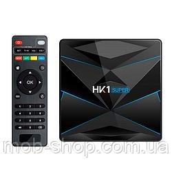 Смарт ТВ приставка HK1 Super 4/64Gb Smart TV (смарт ТВ приставка на адроиде) + 3 месяца Sweet TV