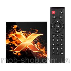 Смарт ТВ приставка VONTAR X1 Smart TV 4/32Gb Смарт ТВ (смарт ТВ приставка на адроиде) + 3 месяца Sweet TV