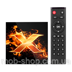 Смарт ТВ приставка VONTAR X1 Smart TV 4/64Gb Смарт ТВ (смарт ТВ приставка на адроиде) + 3 месяца Sweet TV