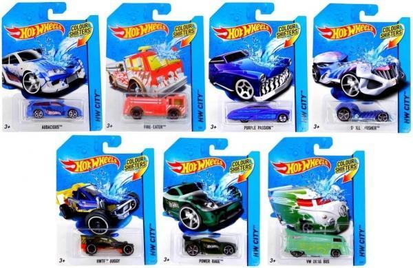 Машинка Hot Wheels Зміни колір (в асорт.)