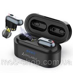 Бездротові навушники SYLLABLE S101 black Bluetooth навушники з блютузом