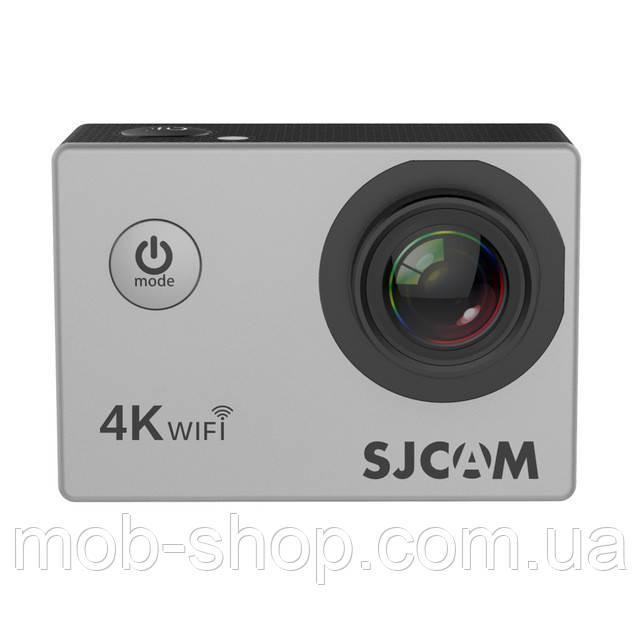 Туристическая Экшн камера Action Camera SJCAM SJ4000 AIR 4K silver для погружения