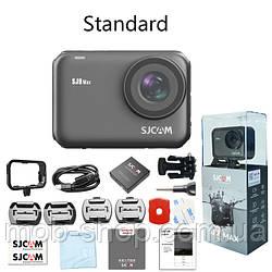 Спортивная Экшн камера Action Camera SJCAM SJ9 Max black большой комплект креплений