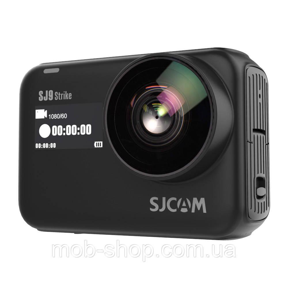Спортивная Экшн камера Action Camera SJCAM SJ9 Strike black высокое качество съемки