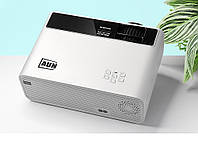 Портативный проектор AUN D60 white. HD