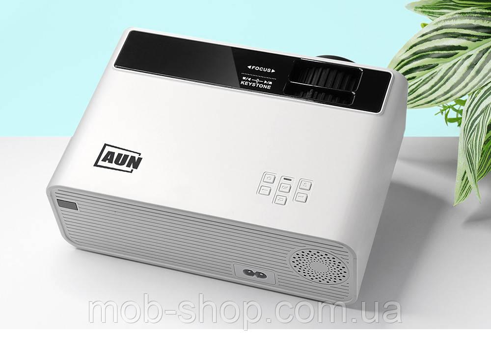 Портативный проектор AUN D60S white. HD, Android