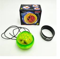 Кистевой эспандер гироскопический тренажер для запястья шар Power Ball