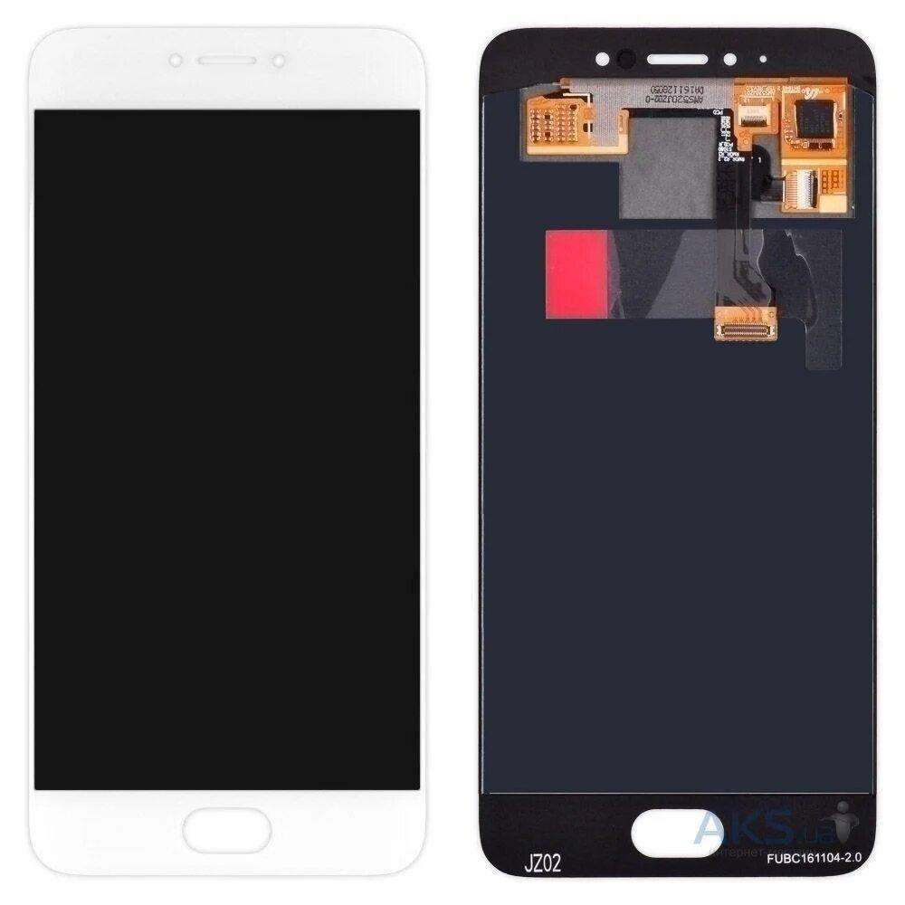 LCD Meizu Pro 6 (M570H)/Pro 6s + touchscreen White high copy