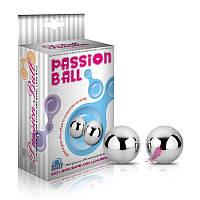 Тяжелые вагинальные шарики Passion Dual Balls, фото 1