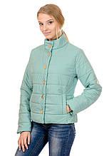 Женская демисезонная куртка IRVIC FK156 44 Мятный (IrC-FK156-44)
