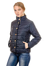 Женская демисезонная куртка IRVIC FK151 44 Темно-синий (IrC-FK151-44)